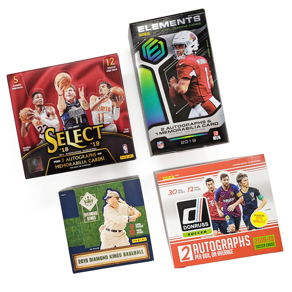 Panini America Online Store Shop Exclusive Trading Cards