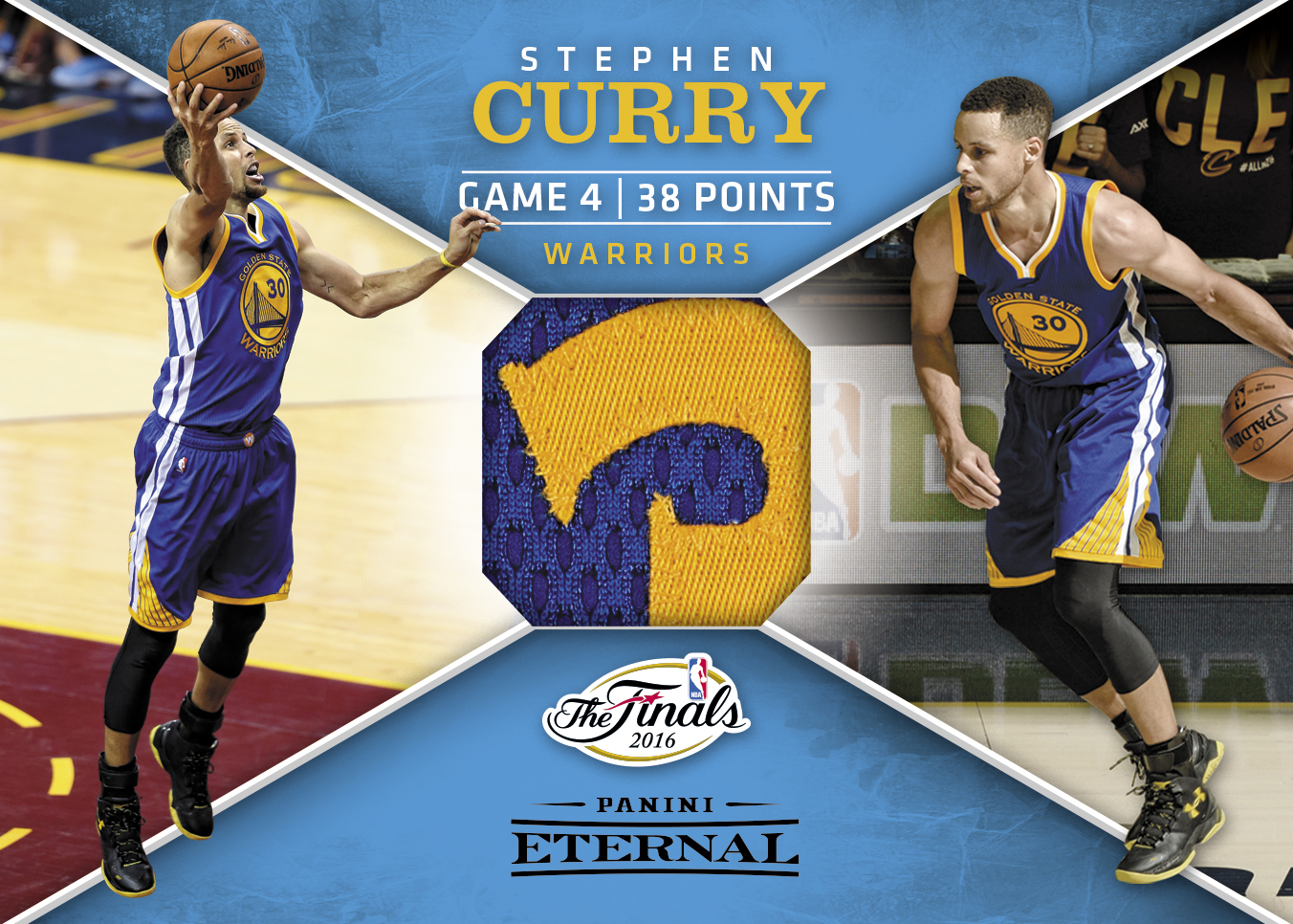 Stephen Curry Nba Finals Jersey 2016 Panini Eternal