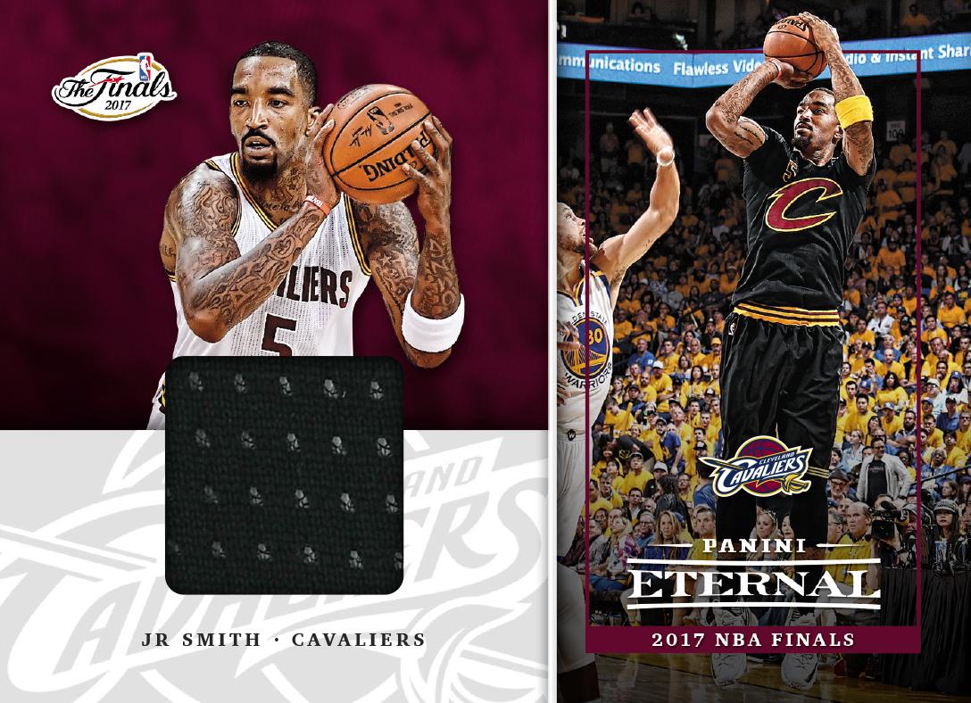 pretty nice 4aa98 da6b5 JR Smith - 2018 Panini Eternal 2017 NBA Finals Memorabilia ...