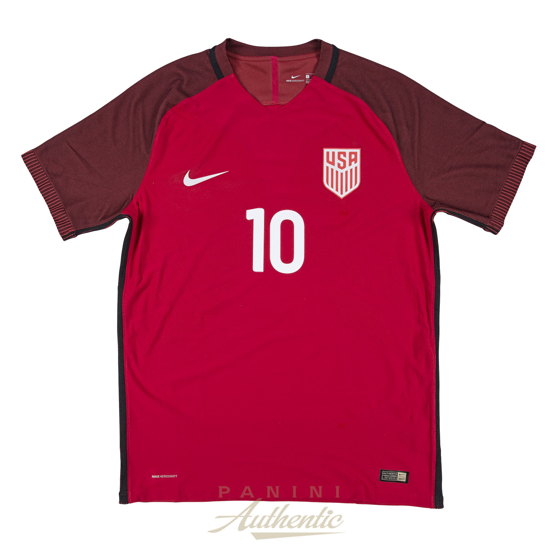 f413efc77 Christian Pulisic Autographed in Black Nike US Men s National Team ...
