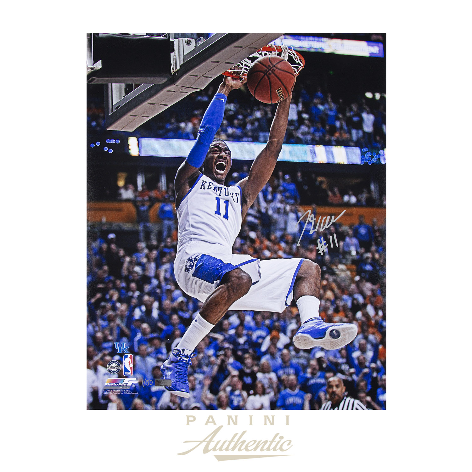 huge selection of 2bef4 1c20e John Wall Autographed 16x20
