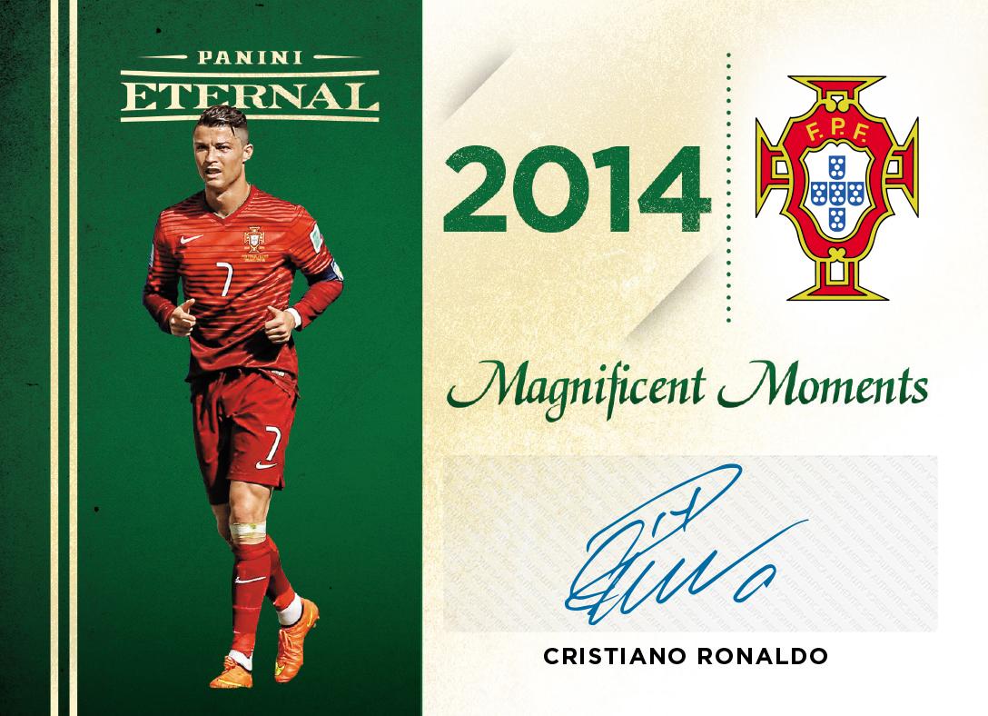 promo code ce264 7590b Cristiano Ronaldo - 2018 Panini Eternal Magnificent Moments ...