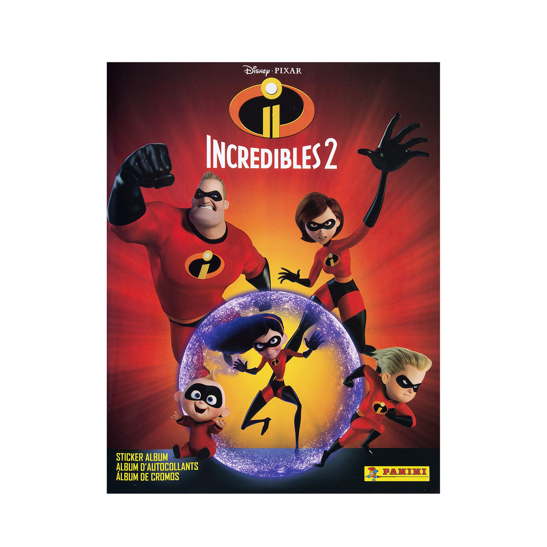 2018 Incredibles 2 Movie Sticker Collection Album