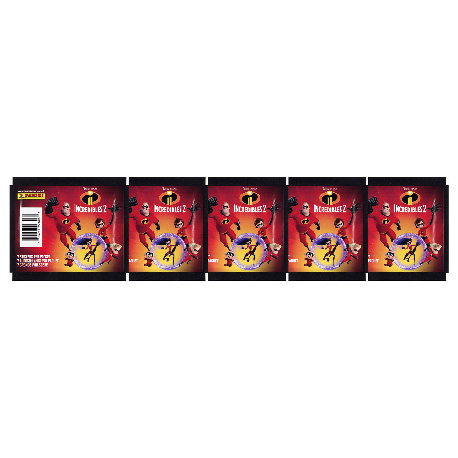 2018 Incredibles 2 Movie Sticker Collection 20 Pack