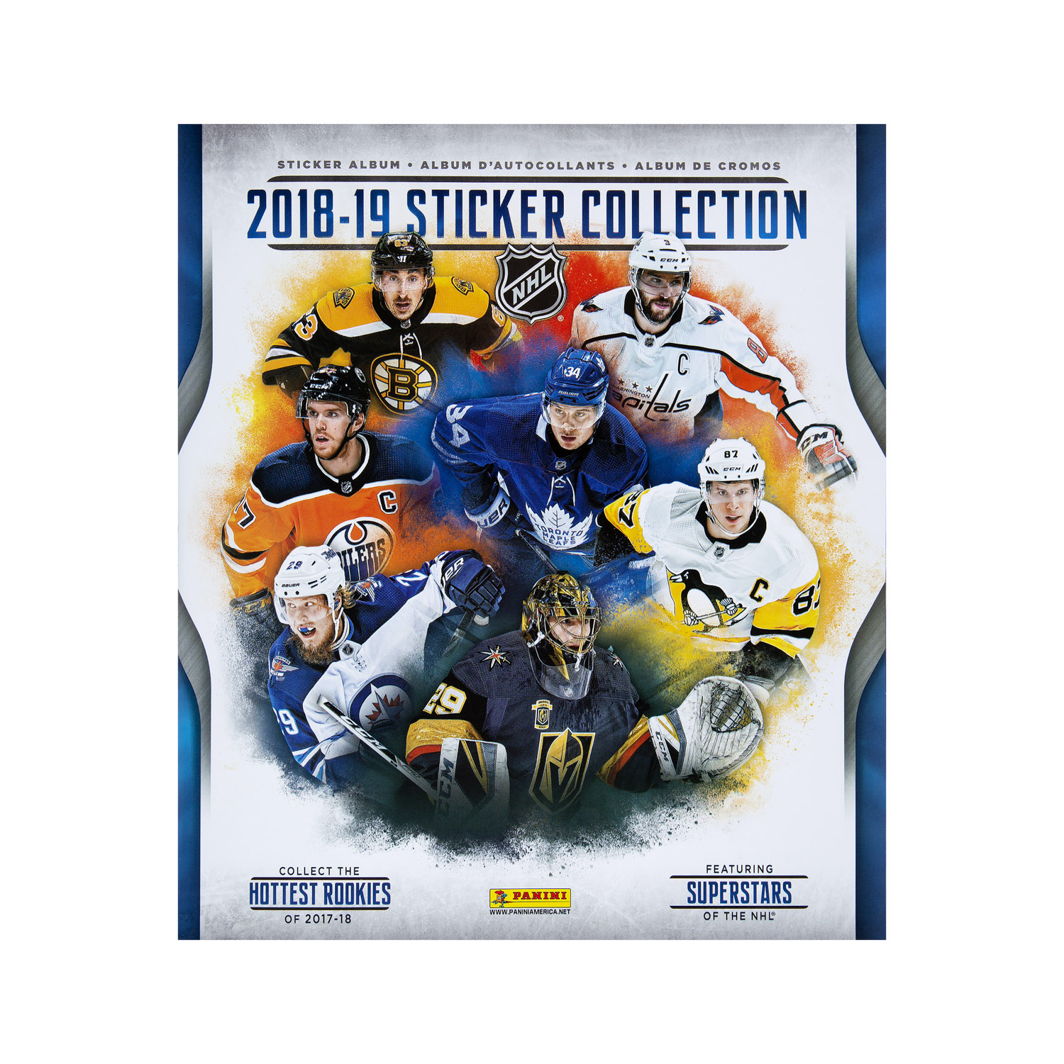 9cdf0235ce1 2018-19 NHL Sticker Collection Album