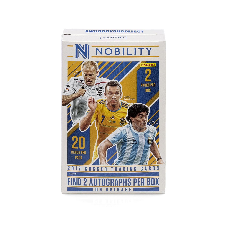 3bfce3f972fea 2017 Panini Nobility Soccer Trading Cards (Hobby)