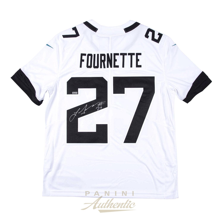 sale retailer f5f8f 45b0d Leonard Fournette Autographed Jacksonville Jaguars White ...