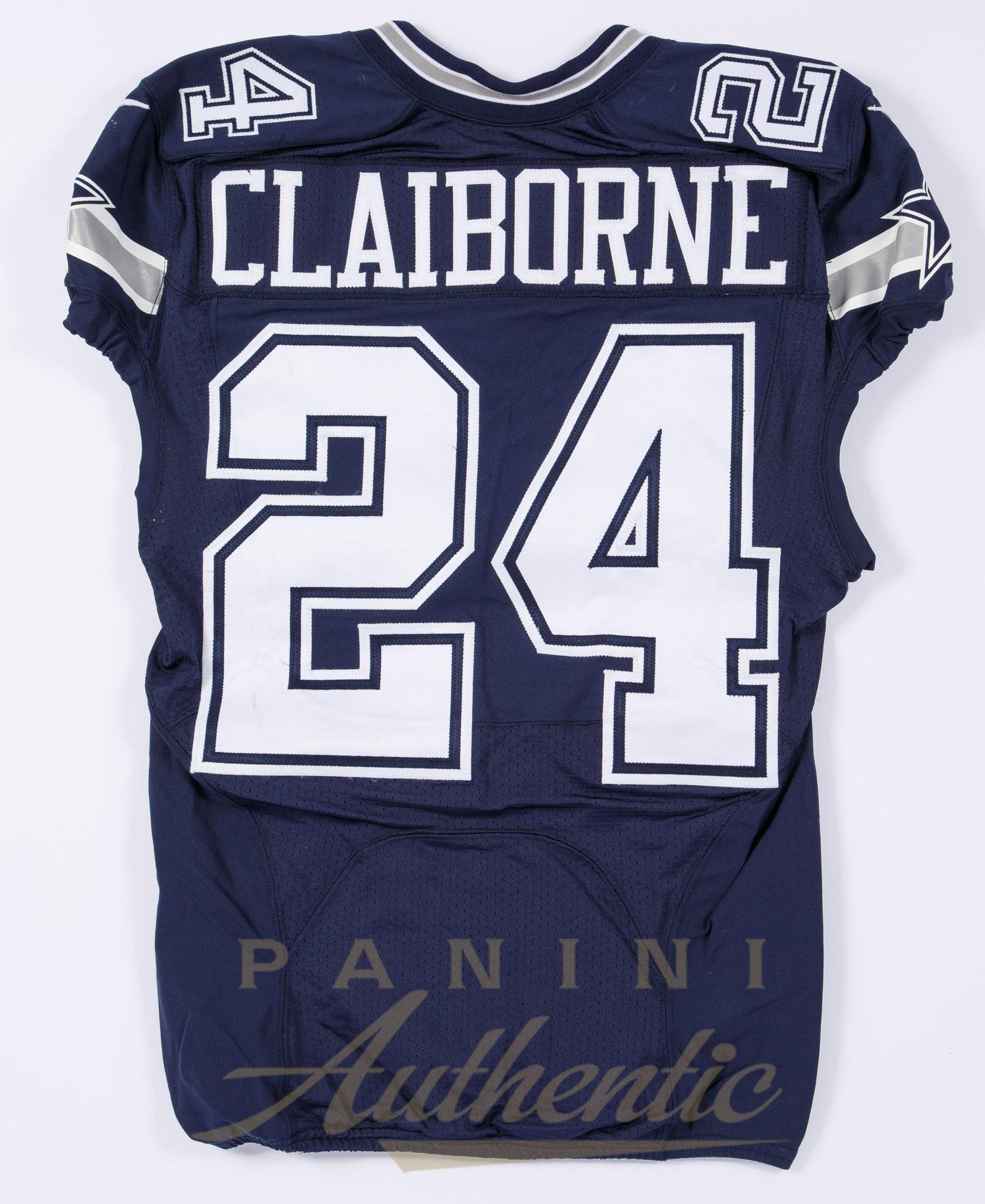 dc0145fa Morris Claiborne Game Worn Dallas Cowboys Jersey From 11/15/15 vs ...