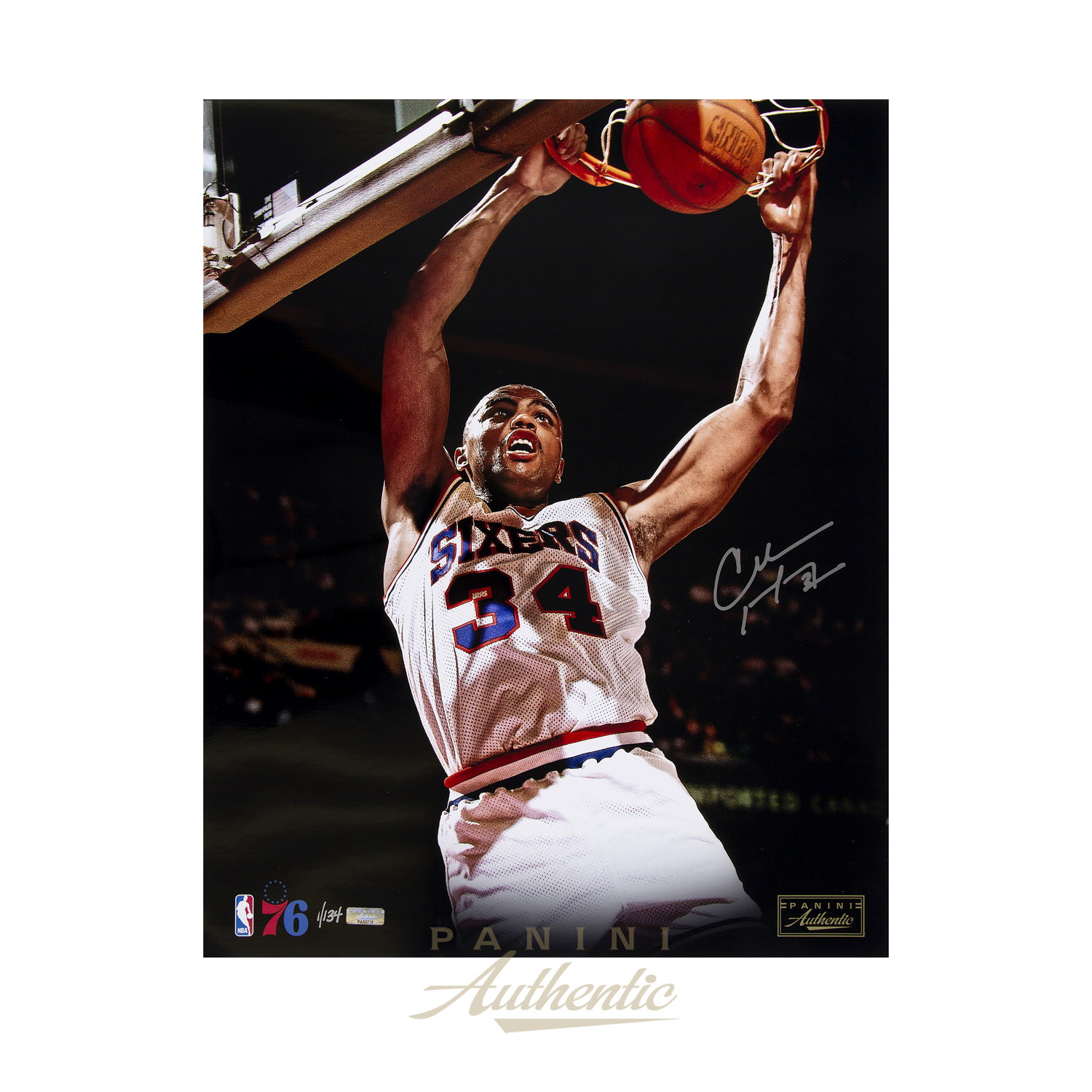 release date 2aadf fdc82 Charles Barkley Autographed 16x20