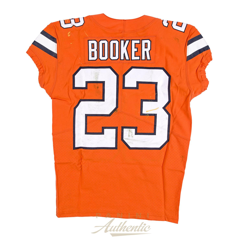 the latest 526fc 200a7 Devontae Booker Game Worn Denver Broncos Jersey & Pant Set ...