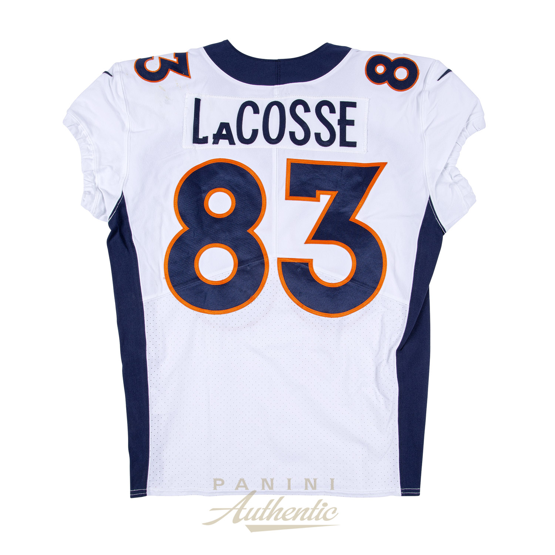hot sale online e4980 f5134 Matt LaCosse Game Worn Denver Broncos Jersey/Pant Set From 9 ...