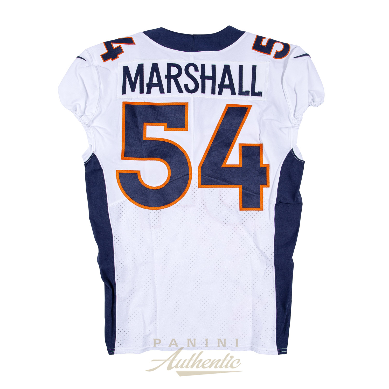 86cf8957 Brandon Marshall Game Worn Denver Broncos Jersey/Pant Set From 9/23 ...
