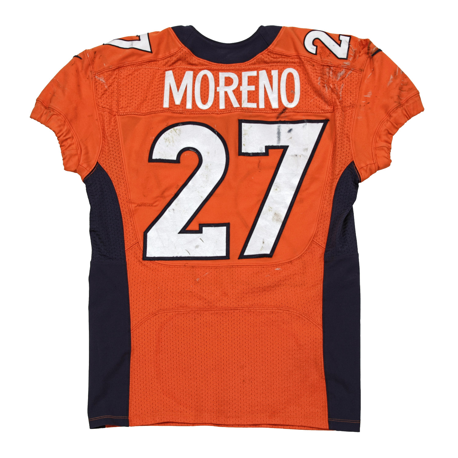 best service 123d7 96e01 Knowshon Moreno Game Worn Jersey from 9/29/2013 vs the ...