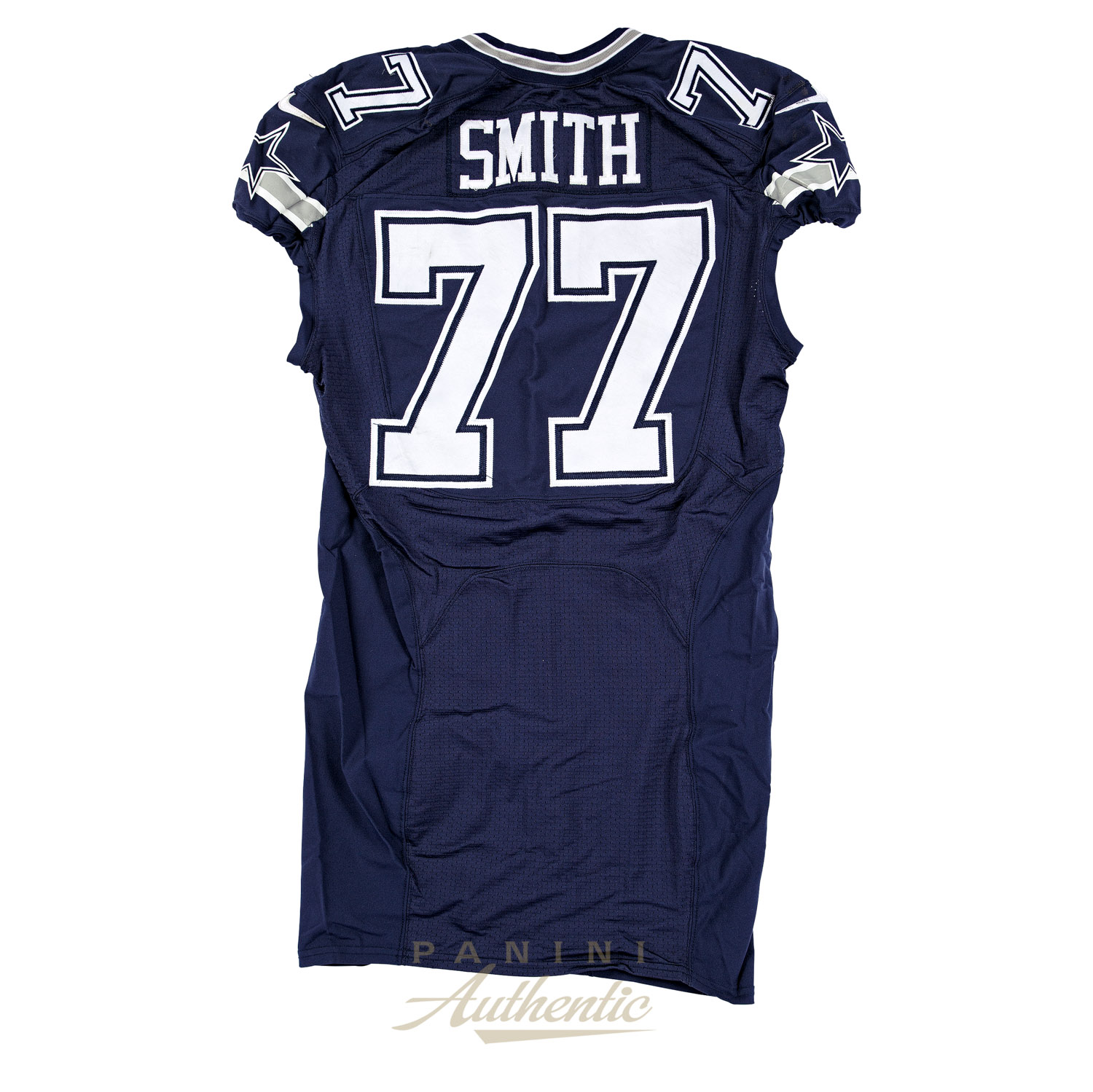 online retailer 5d99e 57201 Tyron Smith Game Worn Dallas Cowboys Jersey From 10/4/2015 ...