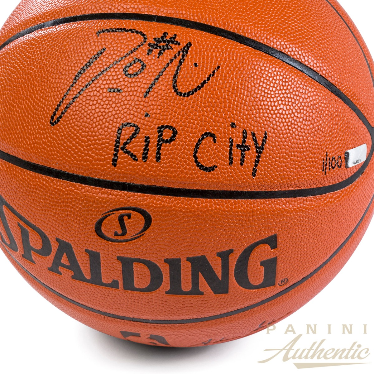 59872d90c Damian Lillard Autographed Replica Spalding Basketball with