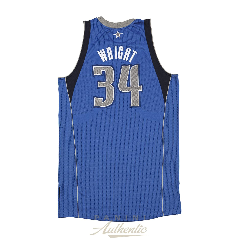 los angeles 40c9d 2d43b Brandan Wright Game Worn Dallas Mavericks Jersey From the ...