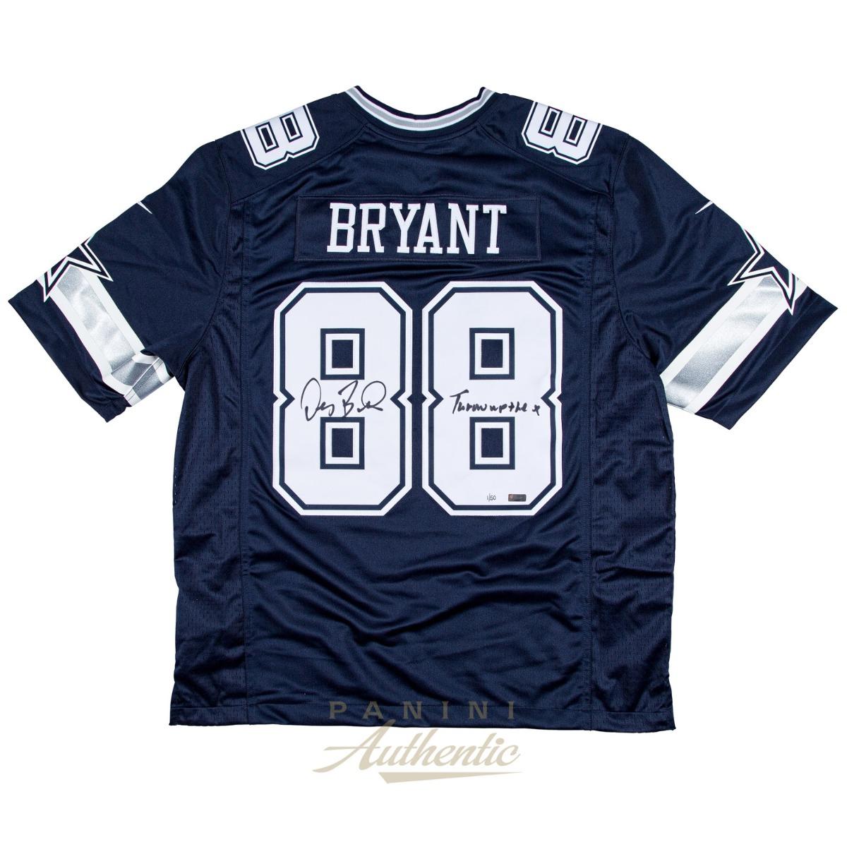 Dez Bryant Autographed Blue Nike Limited Dallas Cowboys