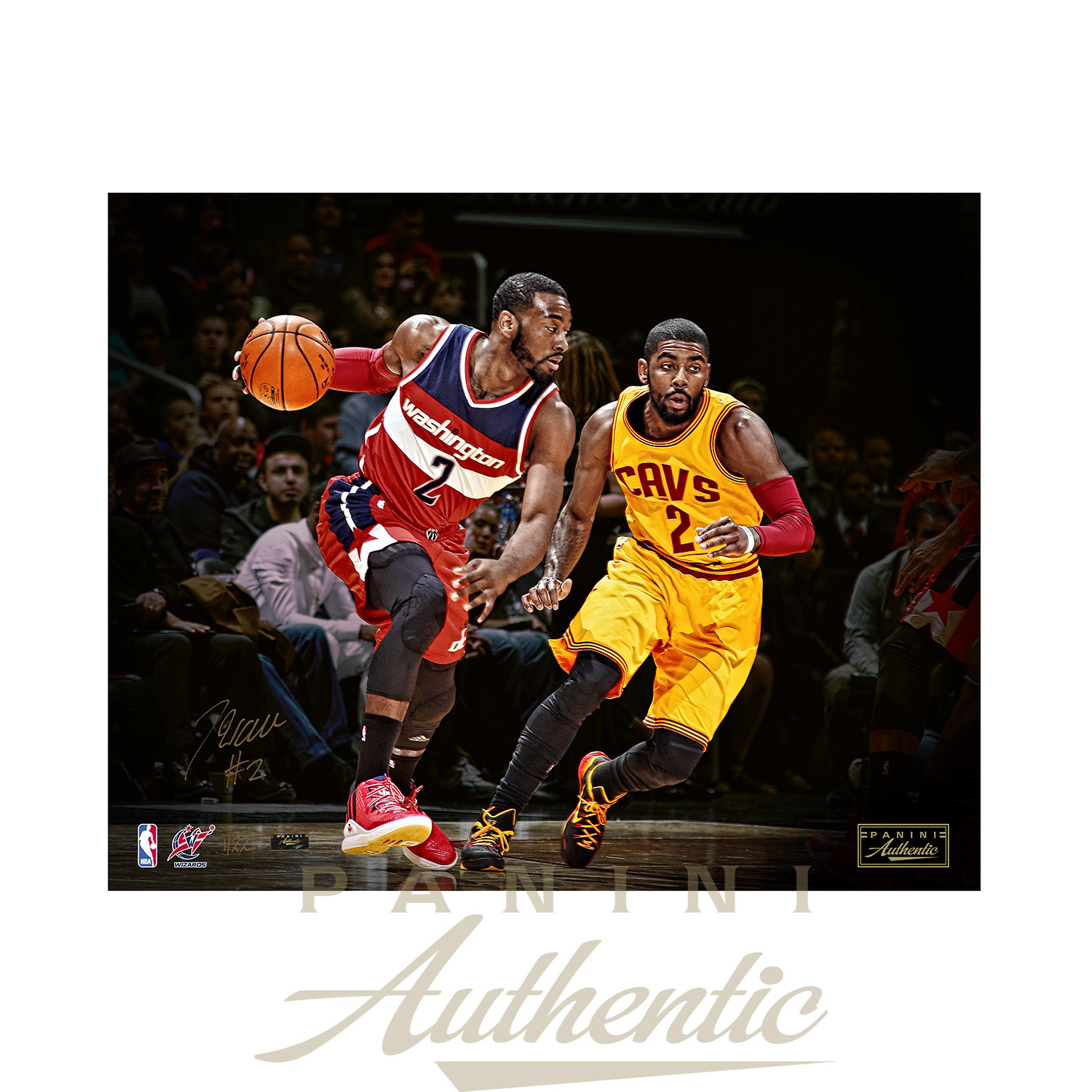 buy online 3e575 52a02 John Wall Autographed 16x20 Crossover