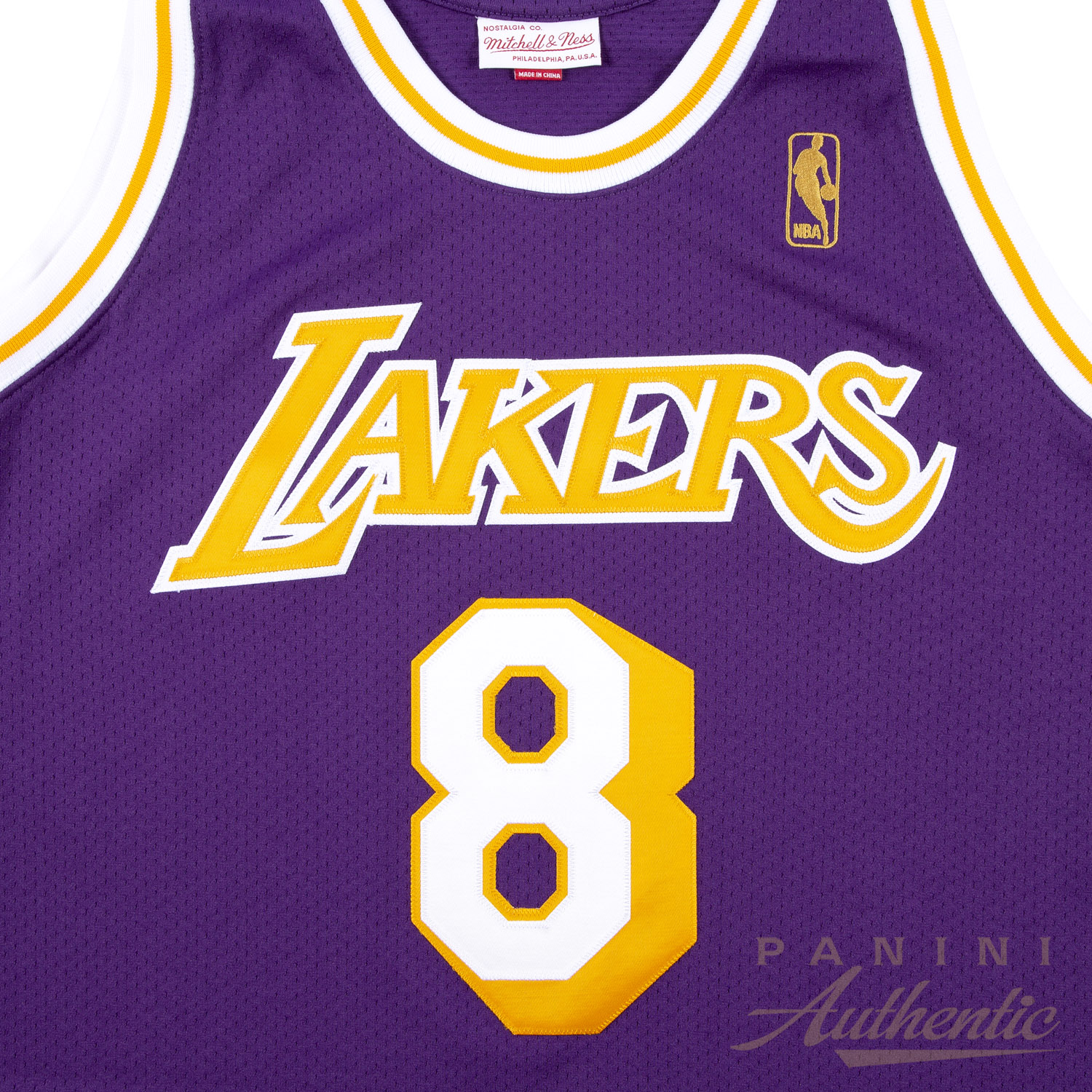 05c08826a91 Kobe Bryant Autographed 1996-97 Mitchell   Ness Purple Authentic  8 Los  Angeles Lakers. Hover to Zoom