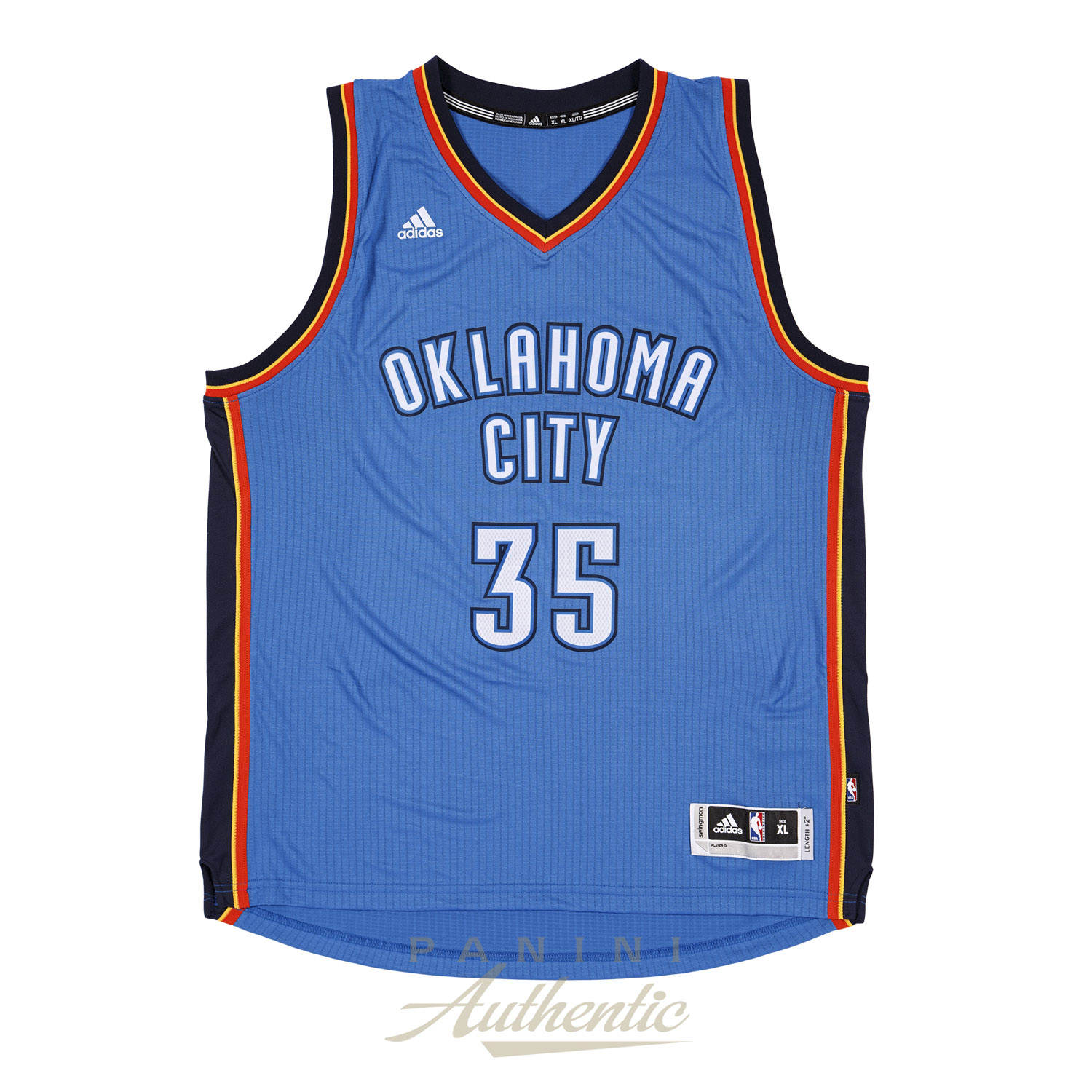 0818497e4 Kevin Durant Autographed Adidas Blue Thunder Swingman Jersey ~Open Edition  Item~. Hover to Zoom