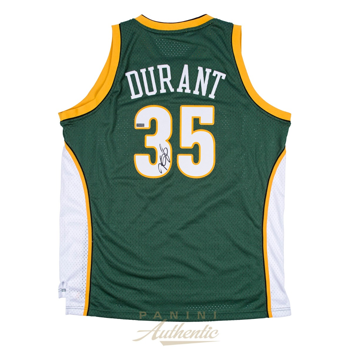 9027acc0008 Kevin Durant Autographed Green Supersonics Swingman Jersey ~ Open Edition  Item ~