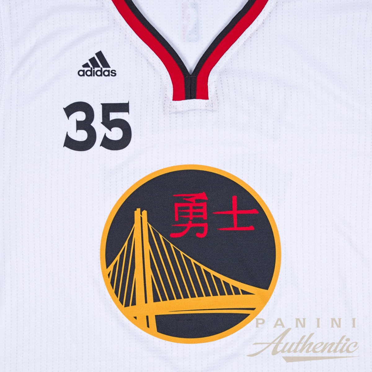 buy online 2ef27 2dbc5 Kevin Durant Autographed Golden State Warriors Chinese New ...