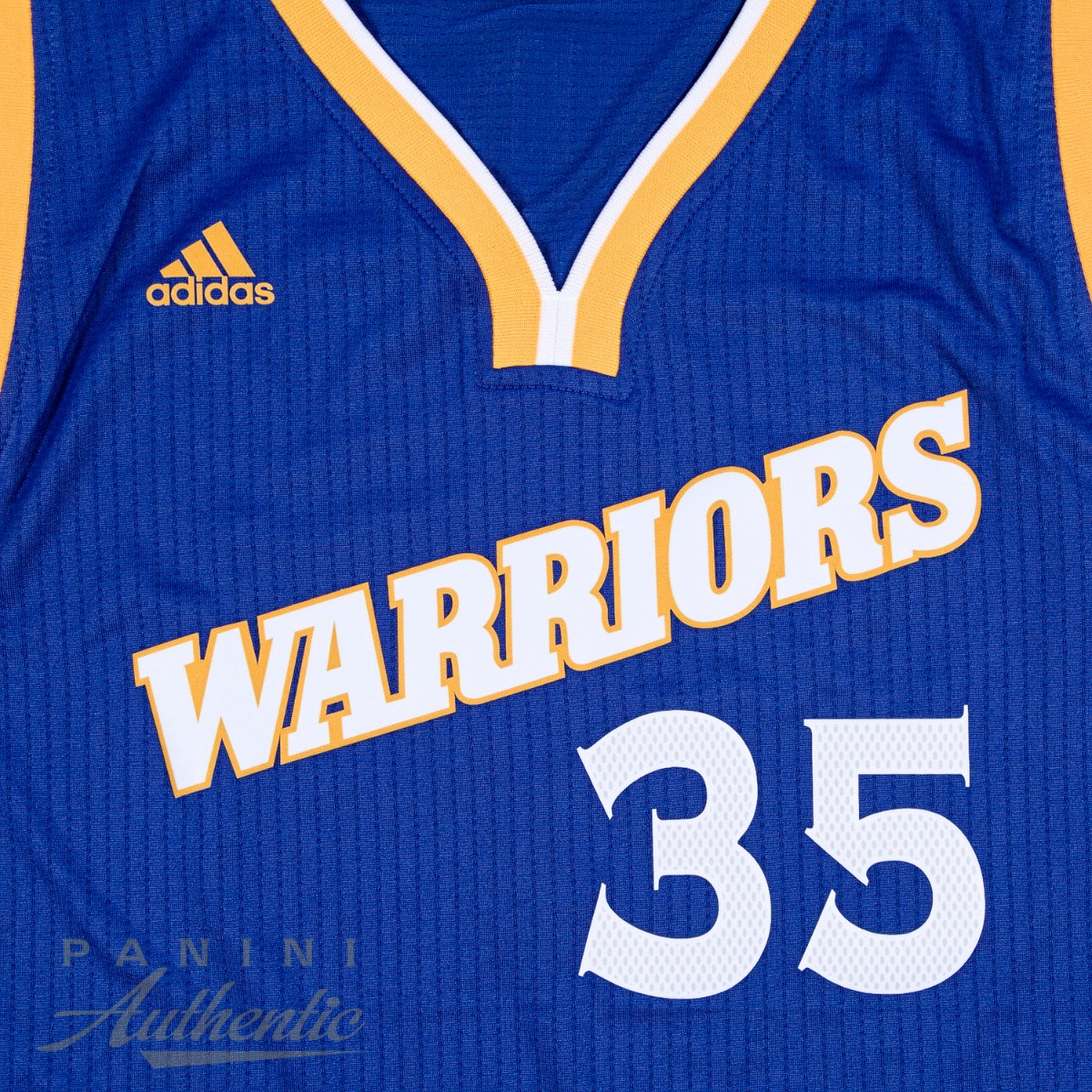 size 40 1c8a9 94f4f Kevin Durant Autographed Alternate Blue Golden State ...