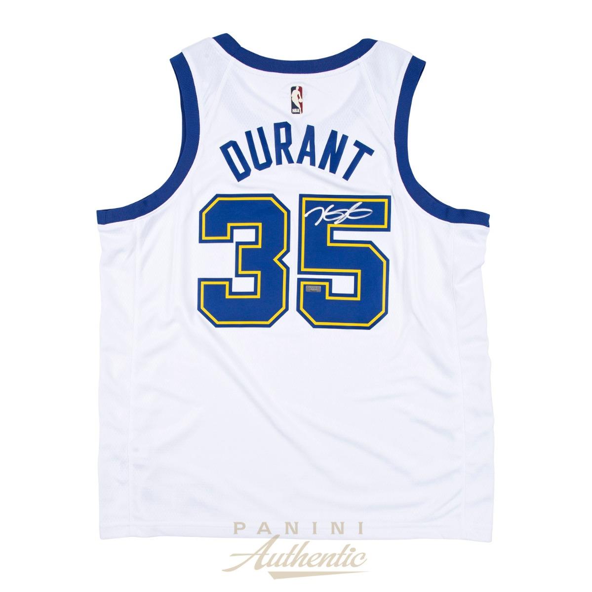 timeless design 6ef2c e6482 Kevin Durant Autographed Nike Golden State Warriors Hardwood ...