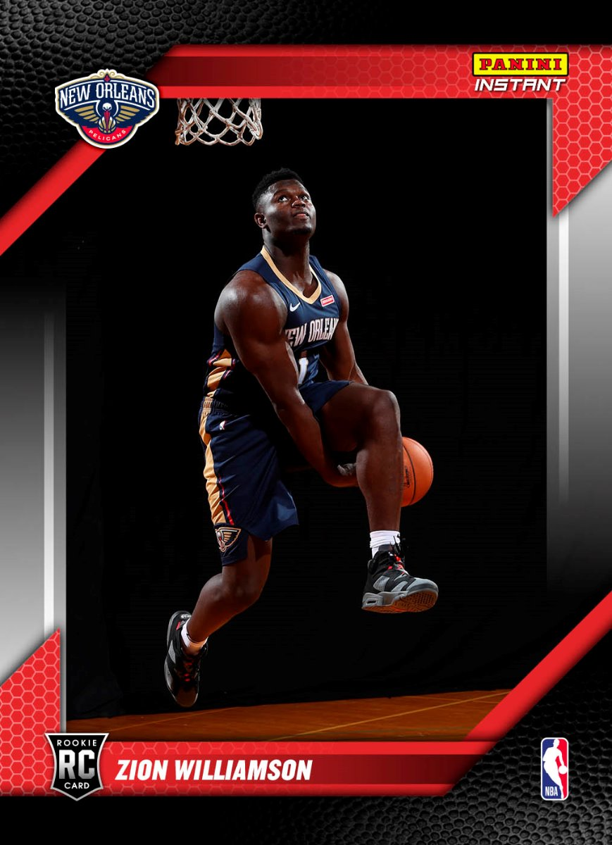 Zion Williamson 2019 20 Nba Instant Rps First Look Base