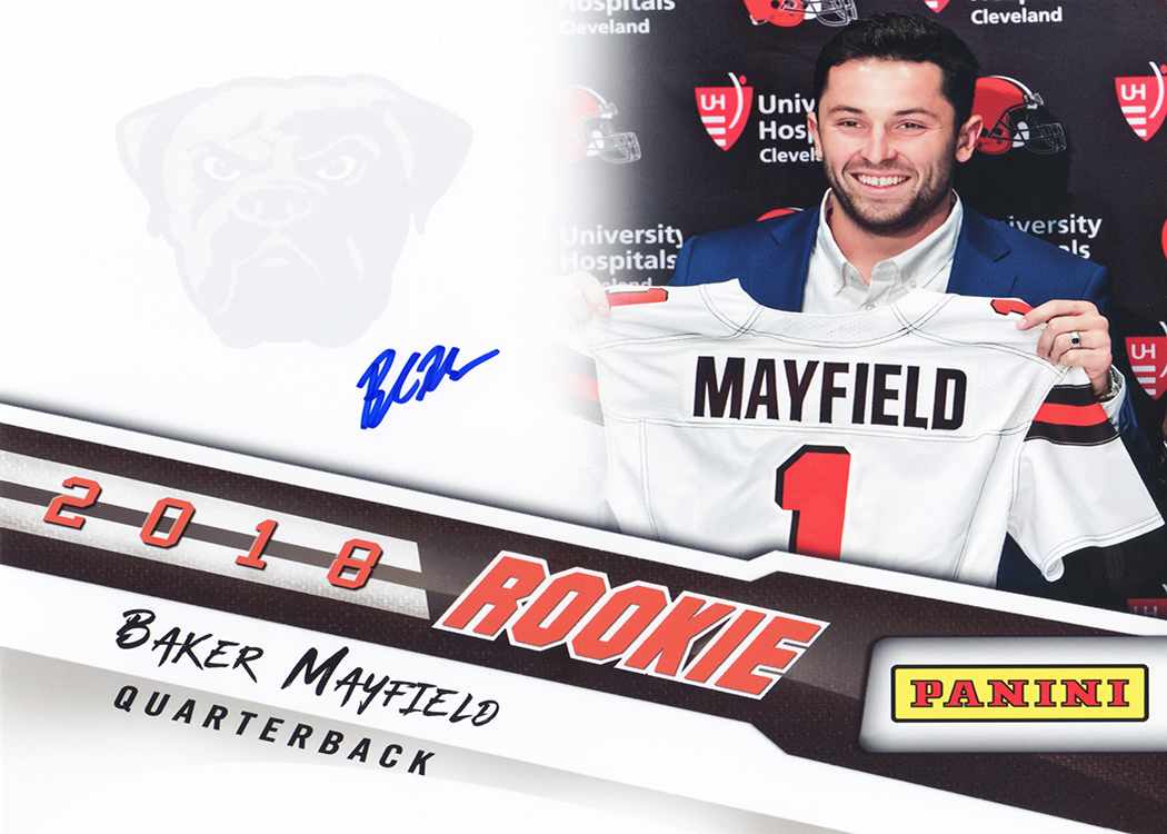 detailed look 95fba ff25d Baker Mayfield - 8x10 Signed Print
