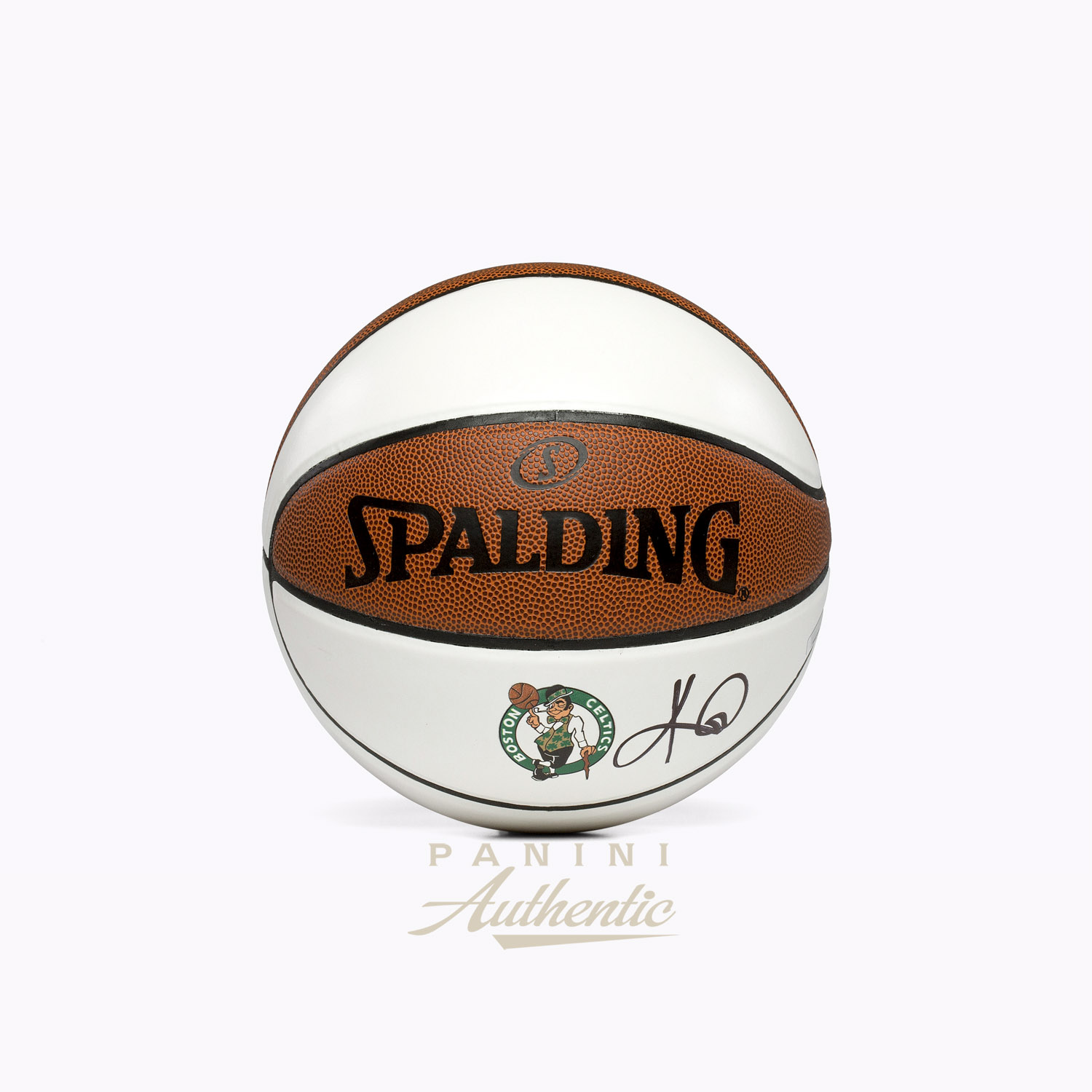 9590fdfb491 Kyrie Irving Autographed Boston Celtics White Panel Basketball ~Open  Edition Item~