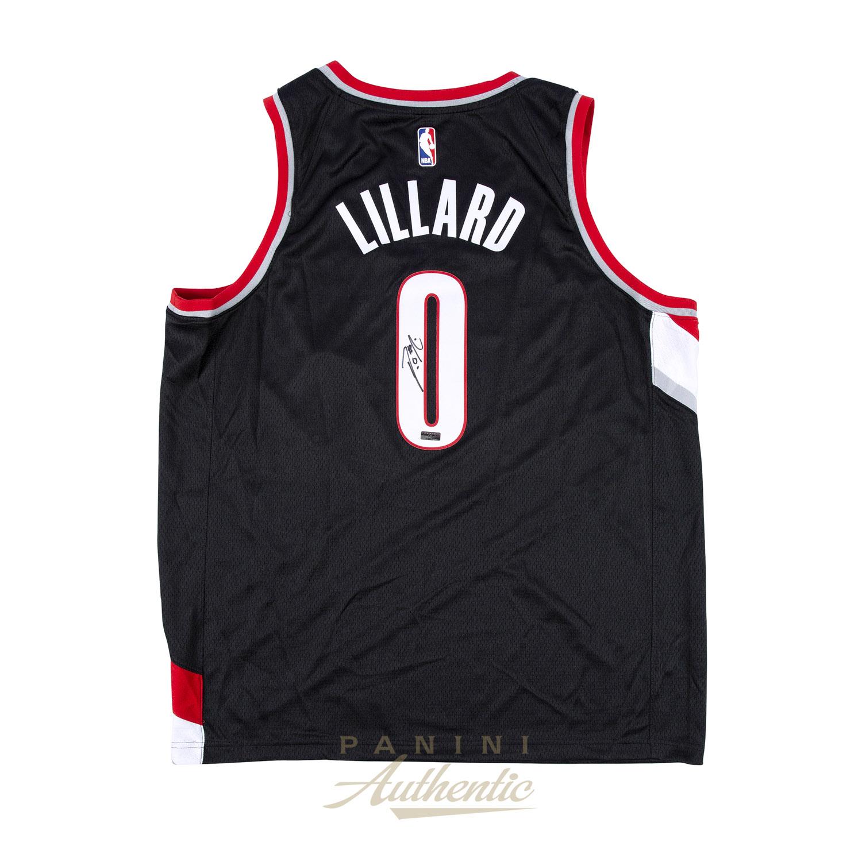 15775472070c Damian Lillard Autographed Black Nike Portland Trailblazers Swingman Jersey  ~ Open Edition Item ~