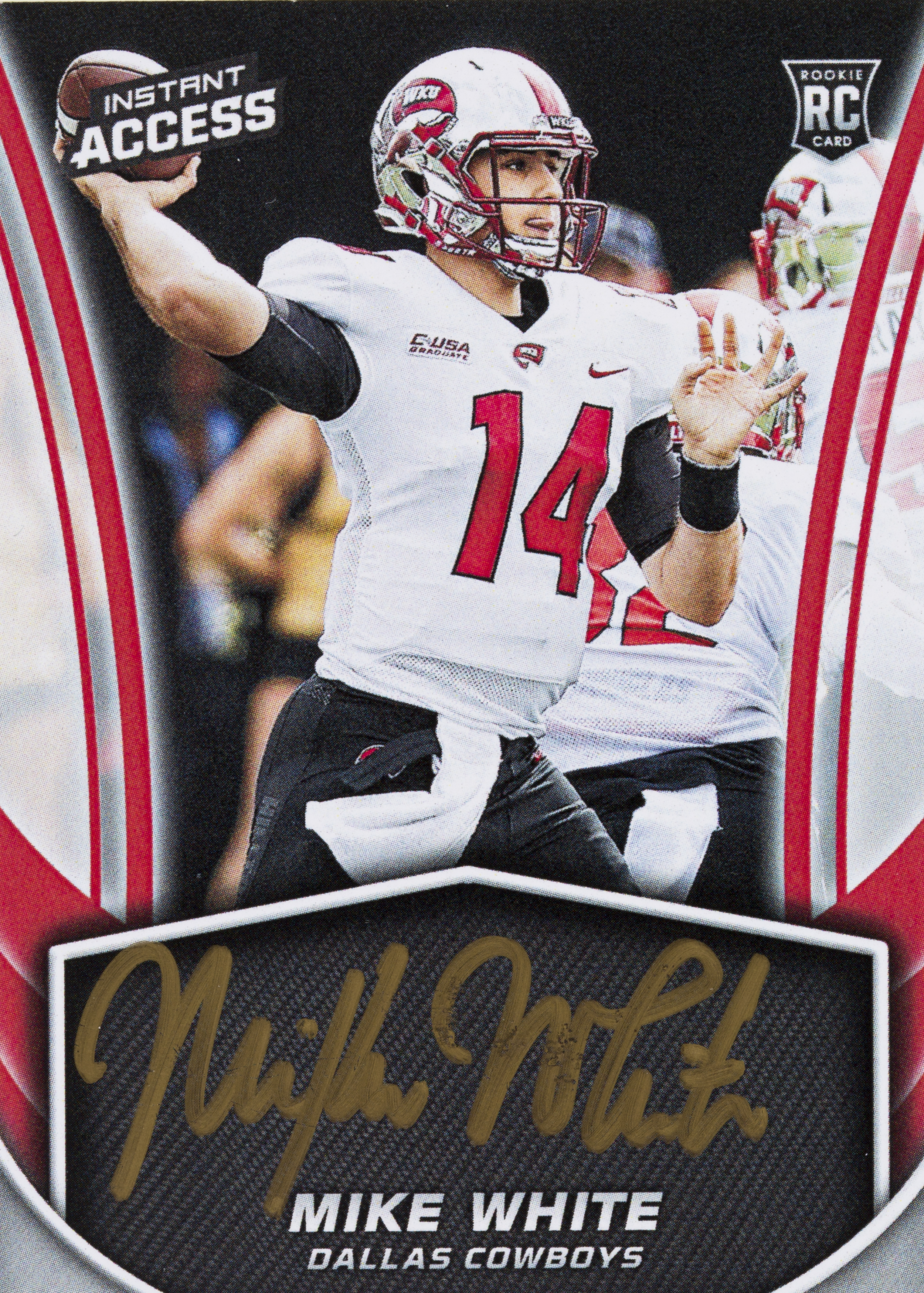 half off 15896 79d70 Mike White - 2018 Panini Instant NFL – Instant Access ...