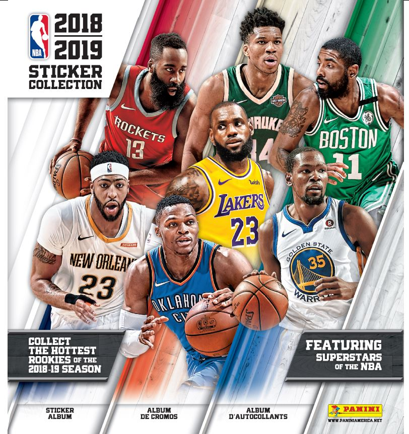 2018 19 Nba Sticker Collection Album