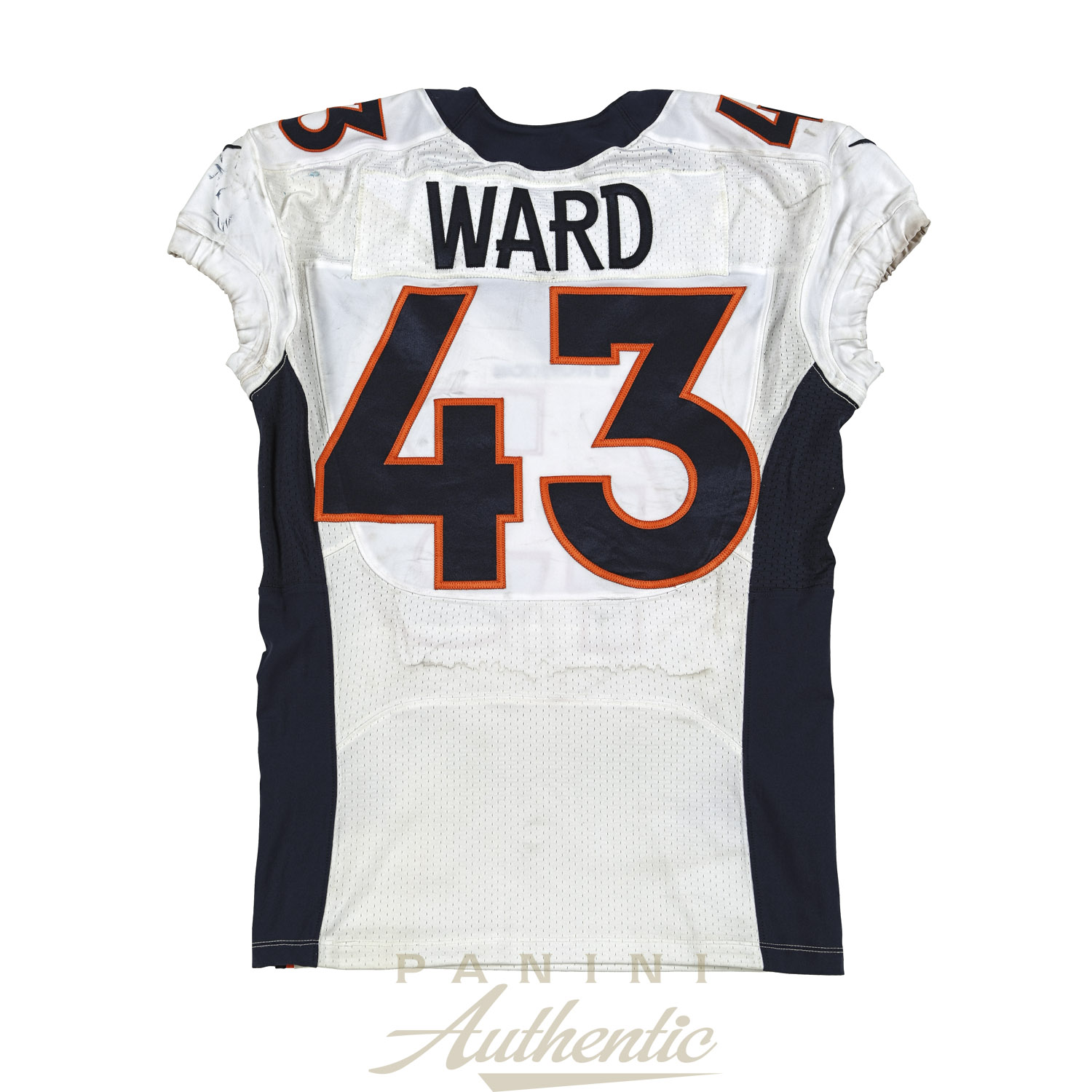 901dfe0a6 TJ Ward Game Worn Denver Broncos Jersey From 9 21 2014 vs the Seattle  Seahawks ~Limited Edition 1 1~