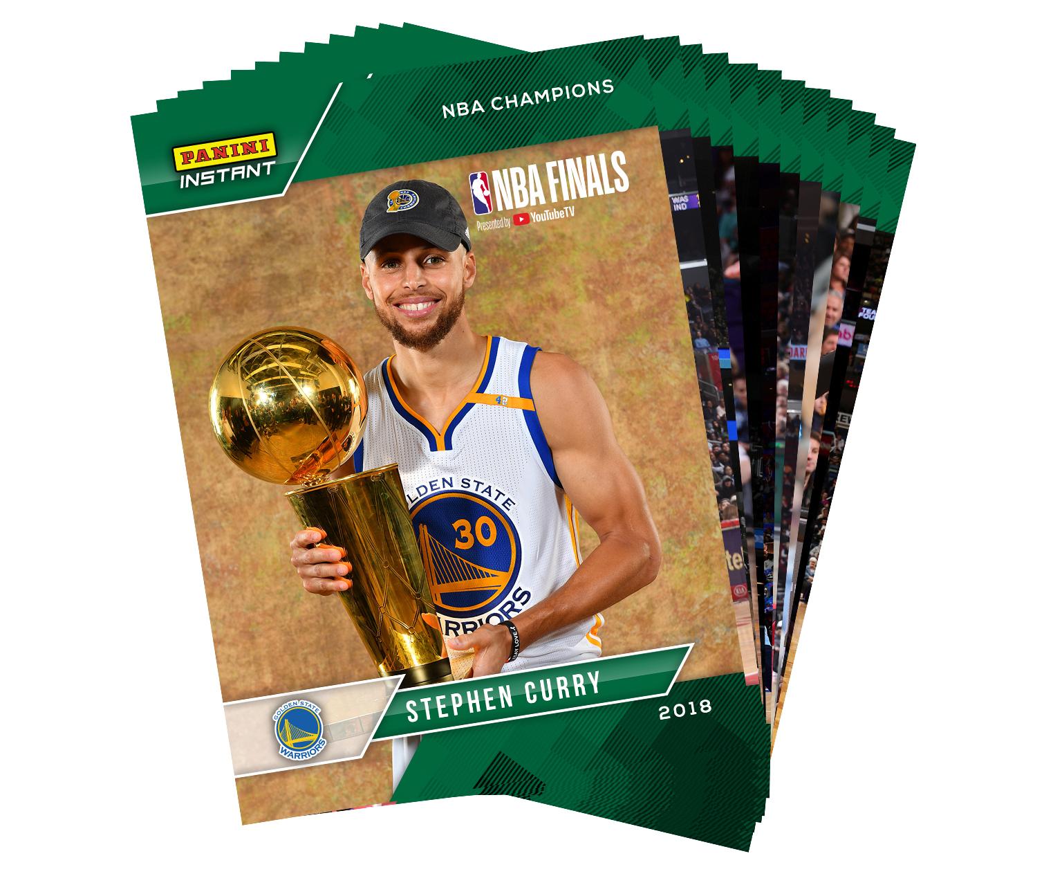 33dabfb9c2cf8 Golden State Warriors 30-Card 2018 NBA Champions Team Set- 2017-18 ...